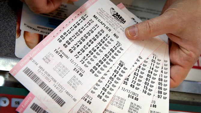 Can a customer buy lottery tickets with a credit card?
