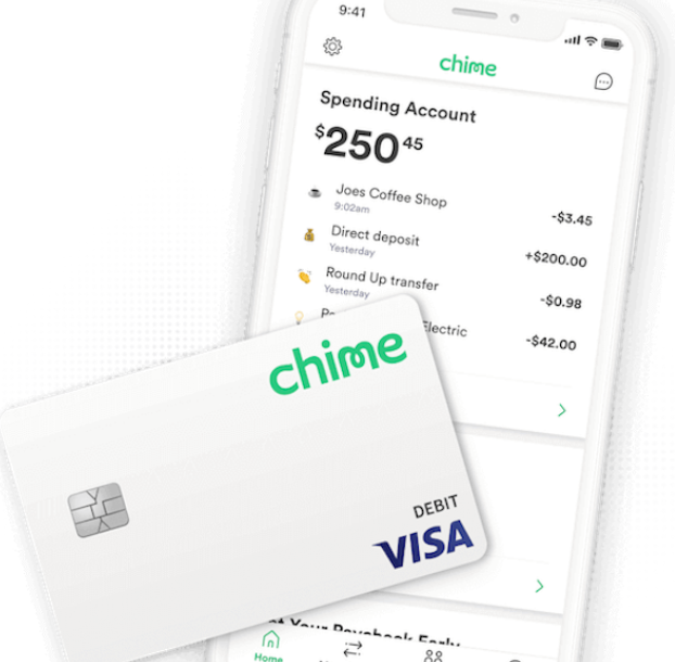 Chime helps you access your money immediately