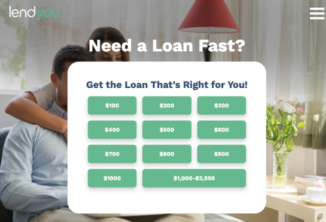 Being a member of OLA, LendYou is a secure website to offer loans