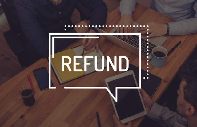 You can ask your bank for a refund in case there is some card fraud